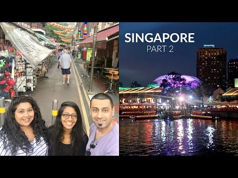 SINGAPORE TRAVEL VLOG; CLARKE QUAY, COOKIE MUSEUM / Nishi V