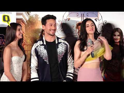 Tiger Shroff, Ananya Panday & Tara Sutaria at 'Student of the Year 2' Trailer Launch | The Quint