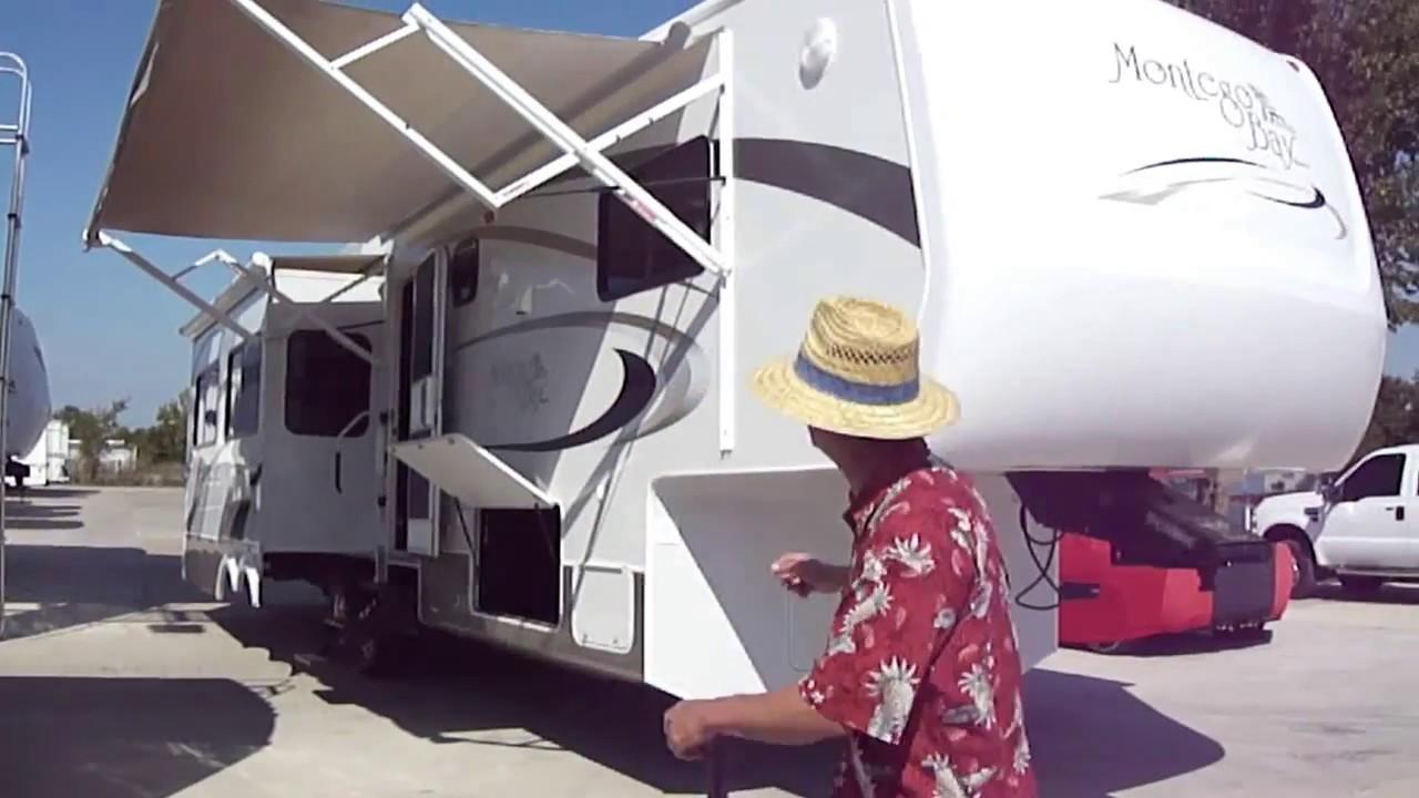 2006 montego bay 5th wheel camper