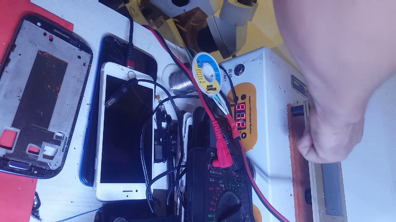 Download Como reparar cristal pantalla sin maquina de laminacion del Oca