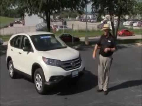Certified Used 2013 Honda CR-V LX 4wd for sale at Honda Cars of Bellevue...an Omaha Honda Dealer!