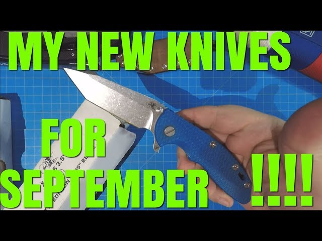 What I Added To My Knife Collection In September!!!
