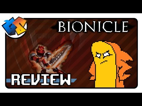 GAME SHARKS- Bionicle The Game Review