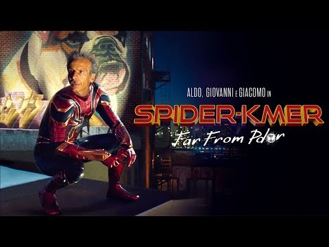 """SPIDER-MAN: FAR FROM HOME"" con ALDO, GIOVANNI e GIACOMO"