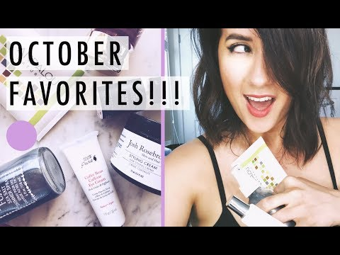 My OCTOBER GREEN BEAUTY And SKINCARE FAVORITES | Green Beauty Guide