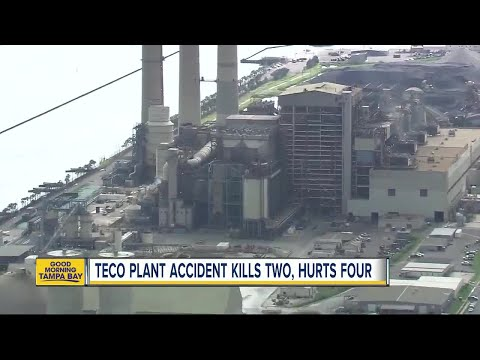 Industrial accident inside TECO's Big Bend Power Plant kills 2 workers, critically injures 4 others
