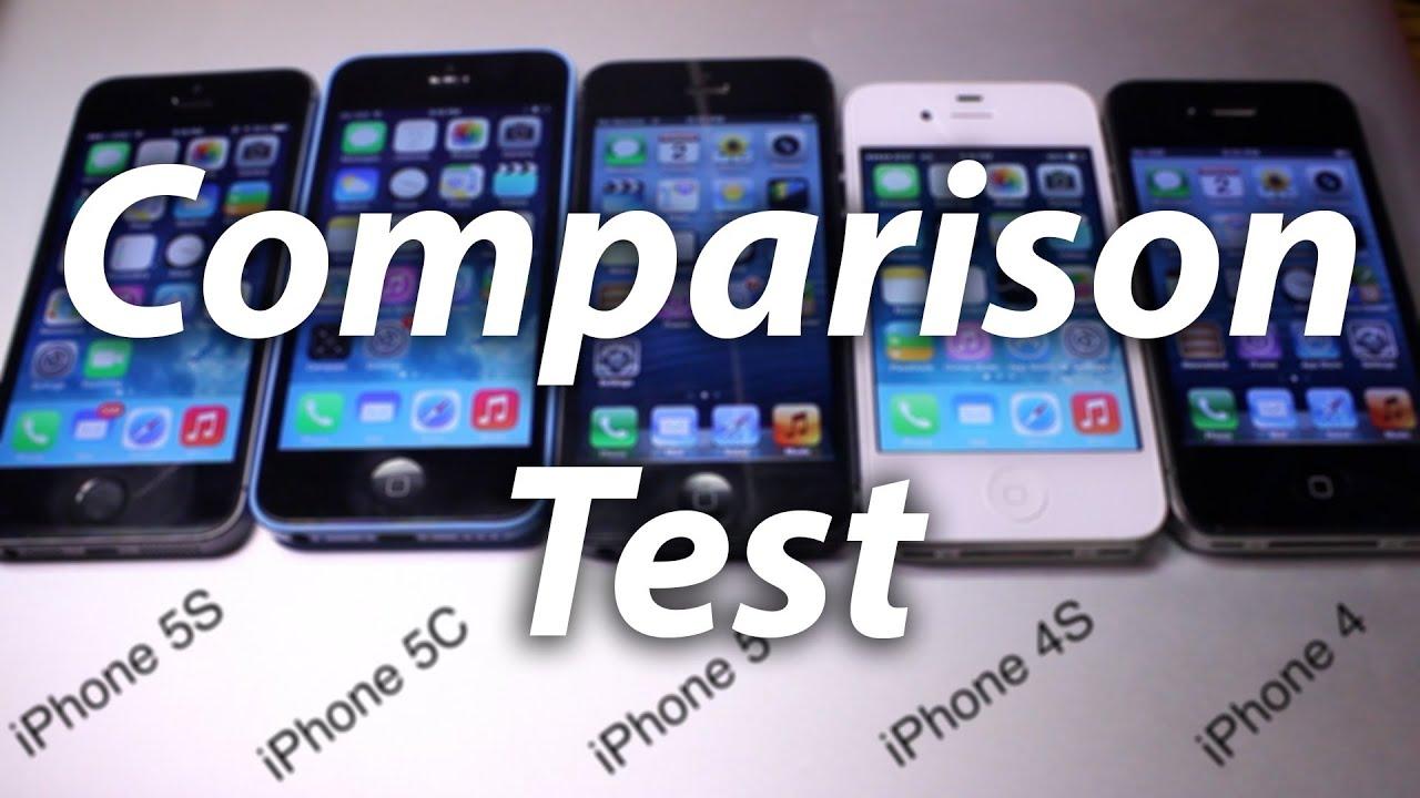 speed amp benchmark test iphone 5s vs 5c vs 5 vs 4s vs 4