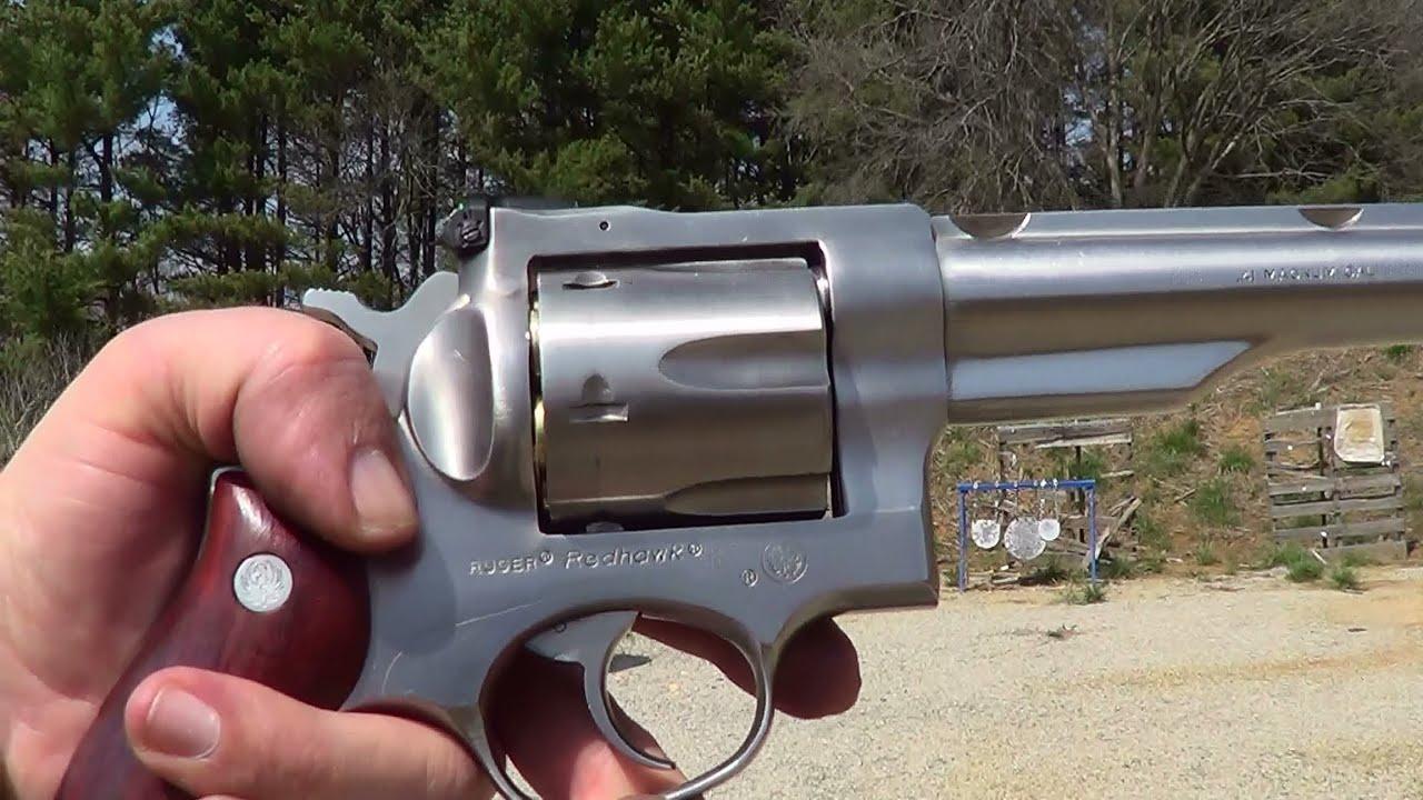 Ruger Redhawk 41 Magnum 1st Shots