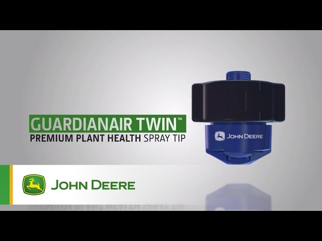 John Deere Sprayer Nozzles: Guardianair Twin™