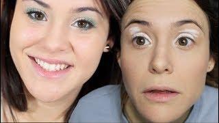 I TRIED FOLLOWING MY OLD MAKEUP TUTORIALS *CRINGE*  | AYYDUBS