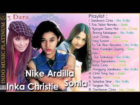 3 Dara Nike Ardilla, Sonia & Inka Christie   Legenda Terbaik Di Indonesia Dan Malaysia