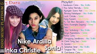 Baixar 3 Dara Nike Ardilla, Sonia & Inka Christie   Legenda Terbaik Di Indonesia Dan Malaysia
