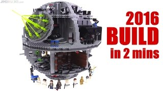 LEGO 2016 Star Wars Death Star timelapse BUILD! 75159