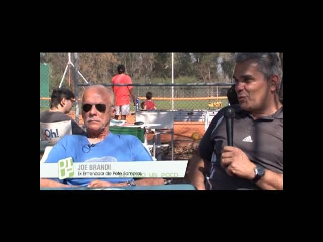 Joe Brandy visita Pilar Tennis Ranch