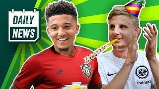 Jadon Sancho: Transfer-Treffen mit Manchester United gefloppt!