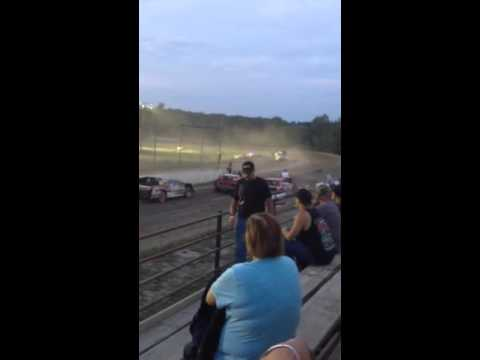 Black Rock speedway heat race 9/18/15
