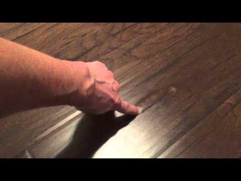 Laminate Floor Bubble Youtube