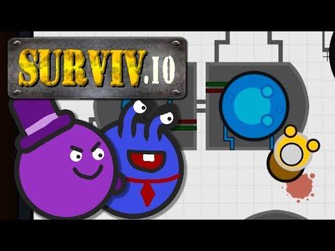 Unterirdische Bunker und 15x-Scope! | Surviv.io
