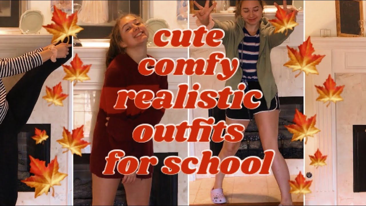 [VIDEO] - 10 wearable outfits for school—fall edition! //lookbook 1