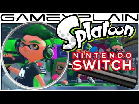 Splatoon Switch Analysis (Secrets & Hidden Details)