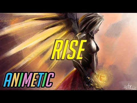 Unbelievable Super Jump Montage: RISE - Mercy - Overwatch