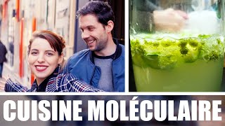 La cuisine moléculaire ! avec Marjorie Le Noan