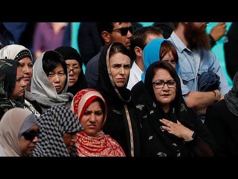 Mensagem de unidade em homenagem a vítimas de Christchurch