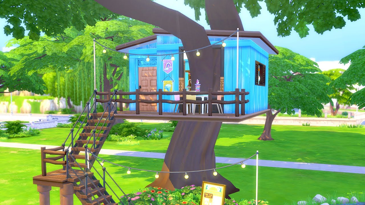 Let's Build a Tree House in The Sims 4 (Part 3)
