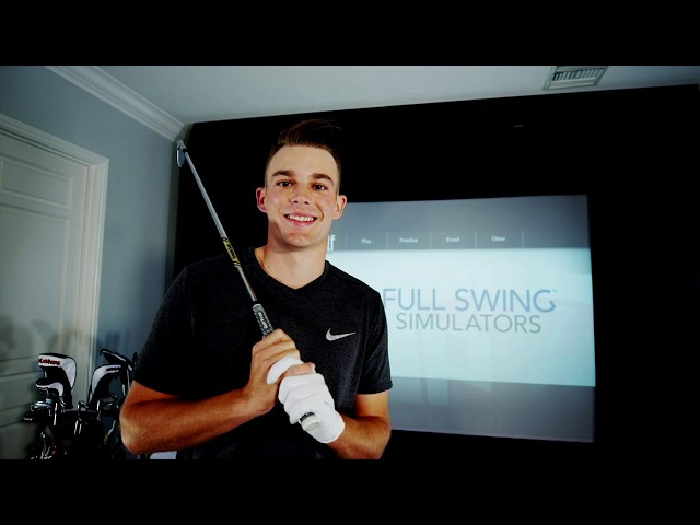 Aaron Wise's Golf Story & How It Led to Installing a Full Swing simulator