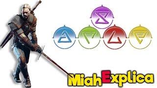 Miah Explica #10 The Witcher 3 - Como distribuir habilidades