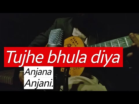 Tujhe Bhula Diya (Fingerstyle Cover) Anjaana Anjaani