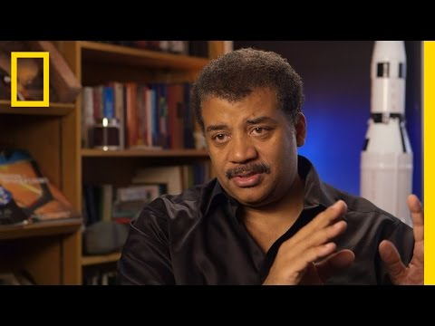 Neil deGrasse Tyson explains why Star Trek's U.S.S. Enterprise would destroy the Millennium Falcon from Star Wars