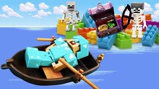Майнкрафт ( Minecraft)— Игрушки изигры Майнкрафт— Играем сфигурками изМайна— Видео обзор игры