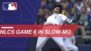 Watch FOX's slo-mo footage of Game 6 of the NLCS
