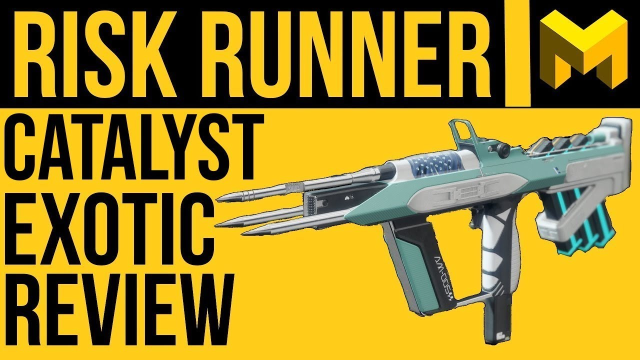 Wtf Is This Riskrunner Catalyst And How To Get It Destiny 2 Shadowkeep Youtube