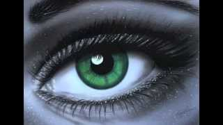 Airbrushing Art The Eye by Tony Regan