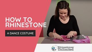 How To Rhinestone A Dance Costume