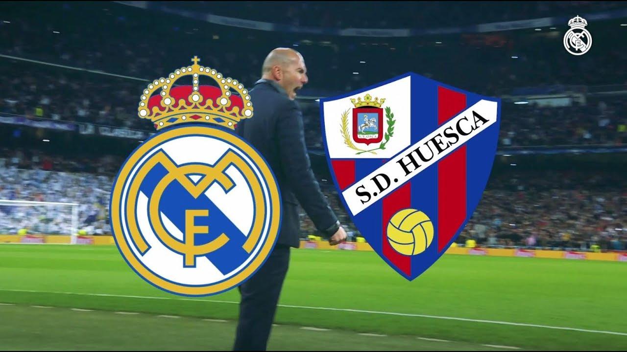 Real Madrid vs Huesca | 3 - 2 - YouTube