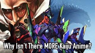 Why Isn't There MORE Kaiju Anime?