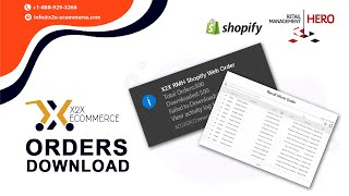 x2x RMH Shopify Integrator - Download Shopify order