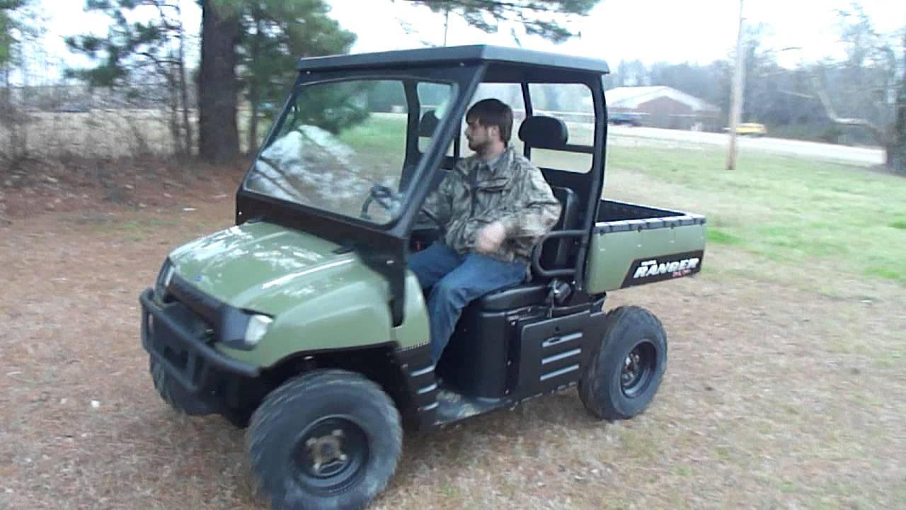 2007 Polaris 700 Xp Ranger Youtube