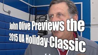 John Olive Previews the 2015 Under Armour Holiday Classic at Torrey Pines