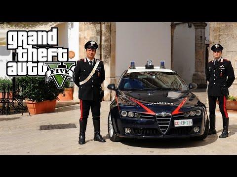 GTA 5 - LSPDFR #32 - CARABINIERI (Posto di blocco, kit Alta Visibilità...)