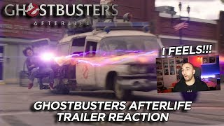 Ghostbusters Afterlife - TRAILER REACTION - I FEELS!!!!