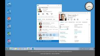 Training- Make the switch to Lync 2013- Check Someone's Availability in Lync 2013-  Video 3 of 5