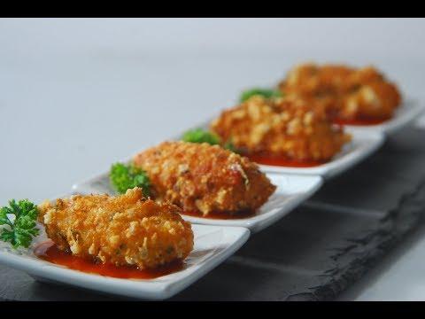 Schezwan Cheese Fritters   Cooksmart   Sanjeev Kapoor Khazana