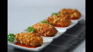 Schezwan Cheese Fritters | Cooksmart | Sanjeev Kapoor Khazana
