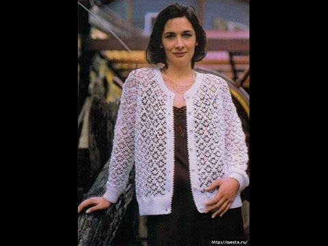 Crochet Patterns For Free Crochet Jacket 1383 Youtube