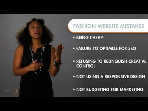 Top 5 Mistakes Made When Building a Fashion Website
