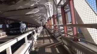 東京まちかどウォーキング特別編2014 レインボーブリッジ サウスルート 2014.12.13 Rainbow Bridge Tokyo Japan